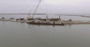 Expanding the Chesapeake Bay's Poplar Island spillways